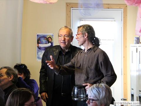 Visite de M. Plamondon, député à Ottawa